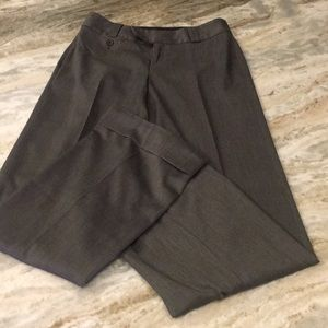 Banana Republic dress pants. Size 0. Dark gray.